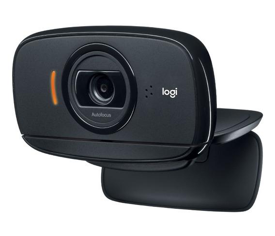 Webcam Hd Logitech C525! Rotação 360º / Foco Automático 8mp