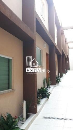 Sobrado Em Condomínio Para Venda 2 Suítes, 1 Vaga  - Vila Santa Clara - 8174