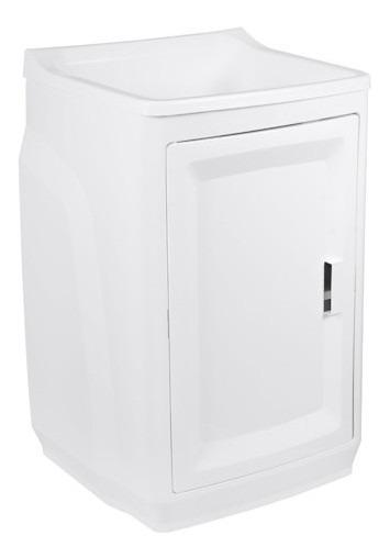 Tanque Lavar Roupa Com Gabinete Todo Plastico 15 L - Astra