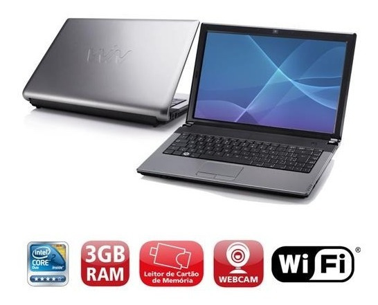 Notebook Barato 2core Intel 4gb Rapido Dvd Wifi Jogos Cad3d