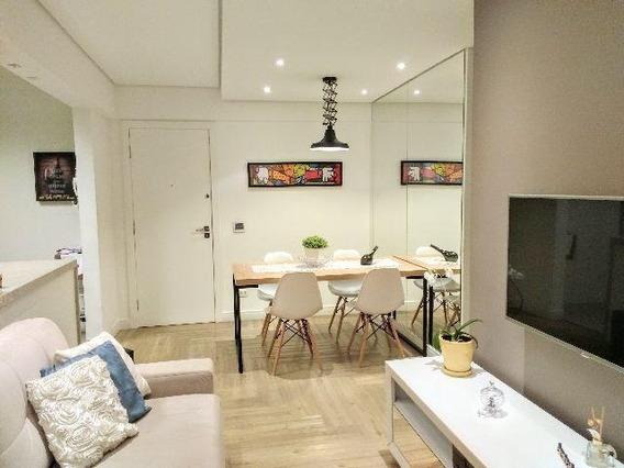 Apartamento Com 1 Dormitório À Venda, 45 M² Por R$ 390.000,00 - Ponta Da Praia - Santos/sp - Ap1057