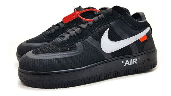Tênis Off-white X Air Force Importado Com Lacre Cor Nova