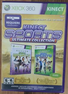 Video Juego Kinect Sports Ultimate 2 Juegos En 1