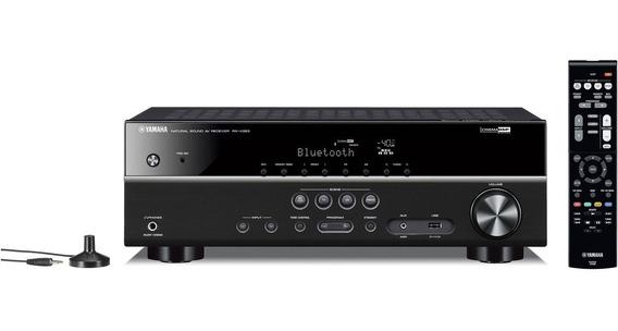Receiver Yamaha Rx-v383 5.1 Canais 3d 4k Ultra Hd Bluetooth