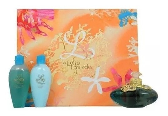 Perfume Kit Lolita Lempicka L Feminino Com 3 Itens - Novo