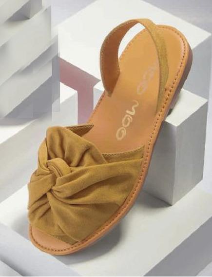 Sandalias Cerradas Casual De Piso Modelo Moo Moo 4119