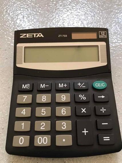 Calculadora Mesa 12 Dígitos Zeta 005928