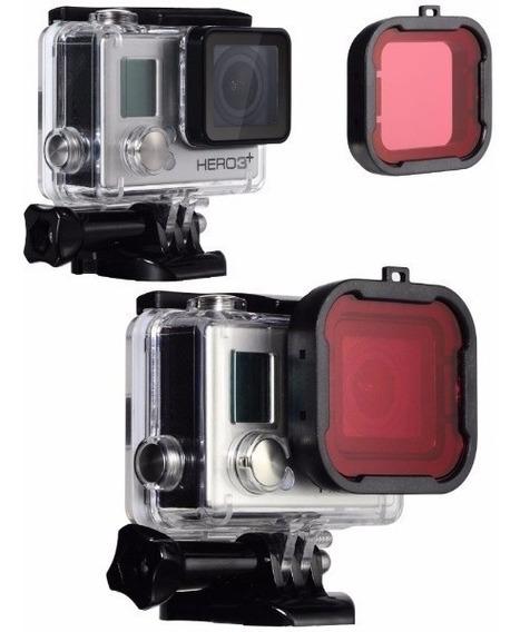 Filtro Mergulho Vermelho Red Dive Filter Gopro Hero 3 3+ 4