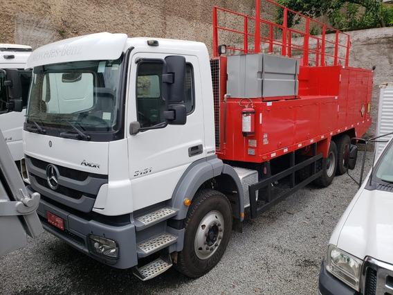 Mercedes-benz Axor 3131 6x4 Ano 2014 Comboio Gascom 10.000 L