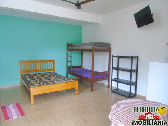 Pousada C/ Apartamento 03 Quartos E 06 Quitinetes, 50m Do Mar, Pereque Acu - Ca373