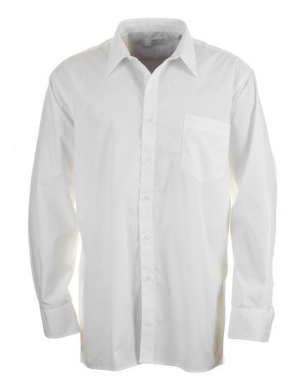 Camisa Blanca Manga Larga