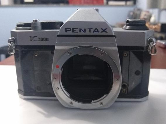Câmera Pentax K1000 (corpo) Leia A Descrição