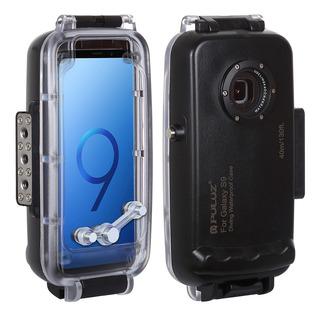 Puluz 40m/130ft Mergulho Impermeável Capa Smartphone Protet