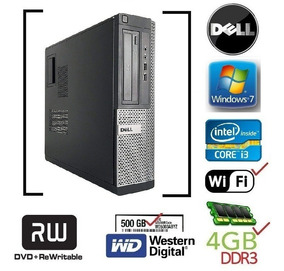 Cpu Dell Optiplex 390 790 990 Dt I3 4gb Hd500 Wifi Grav I5