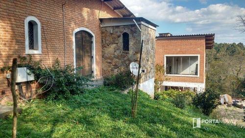 Imagem 1 de 30 de Chácara Com 5 Dormitórios À Venda, 4000 M² Por R$ 850.000,00 - Potuverá - Itapecerica Da Serra/sp - Ch0072