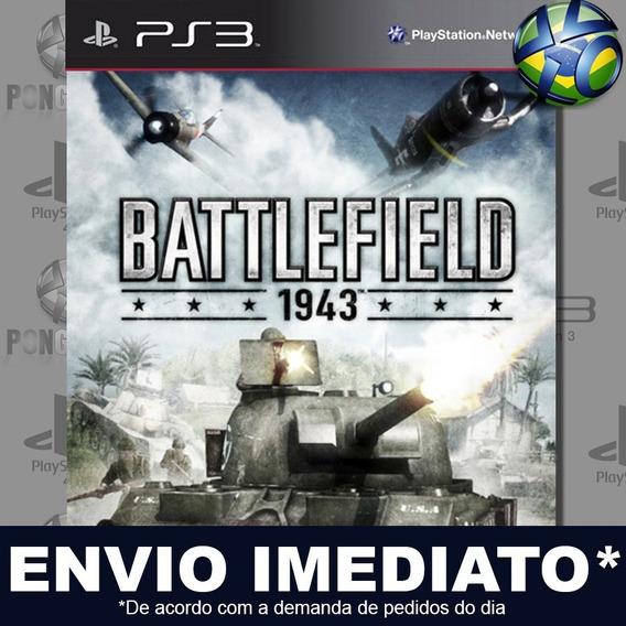 Battlefield 1943 Ps3 Psn Jogo Em Promoção A Pronta Entrega