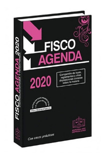 Isef Fisco Agenda 2020 Edición Especial Rosa