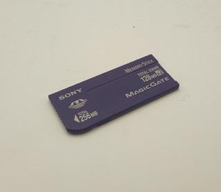 Tarjeta De Memoria Sony Memory Stick 256mb (2x128mb)