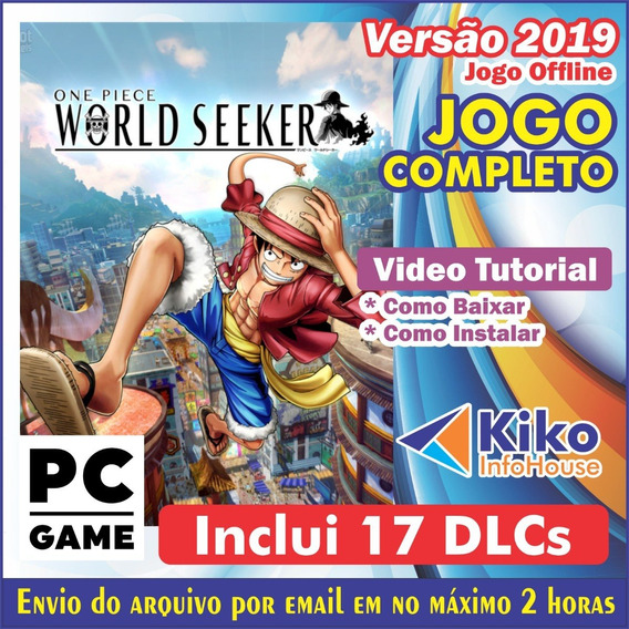 One Piece: World Seeker + 17 Dlcs - Pc Game - Envio Digital