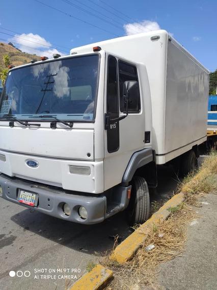 Camion De Carga Refrigerada Ford Cargo 815