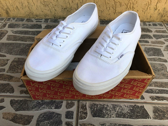 Tênis Vans Authentic Branco Original Tam. 42
