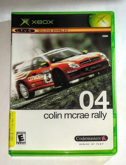 Colin Mcrae Rally 04 Original Completo Xbox Classico Cr $15