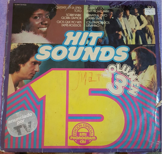 15 Hit Sounds Vol. 3 - Compilado Varios (b) (kikefpvinilos)