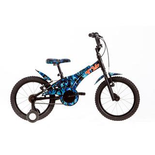 Bicicleta Infantil Tito T16 Aro 16 Azul Camuflada C/ Rodinha