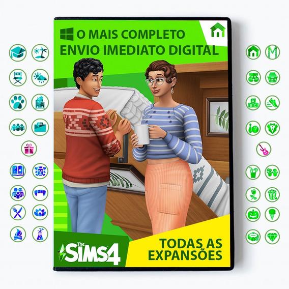 The Sims 4 + Todas Expansões + Dlc + Pacotes Digital 2020 Br