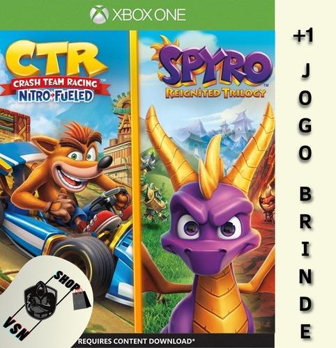 Crash Team Racing Nitro-fueled + Spyro - Xbox One Digital