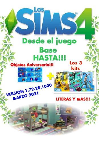 Imagen 1 de 4 de Los Sims 4 Juego Completo Hasta V.1.72.28.1030 Ultima!!!