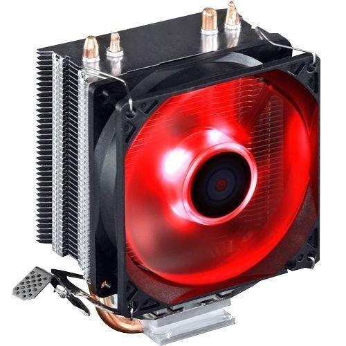 Cooler P/ Processador Intel 115x E Amd Gamer C/ Led C/cobre