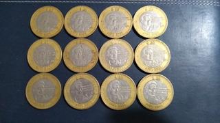 Bonitas Monedas $20.00 Pesos Ocatvio Paz Año 2000 Y 2001.