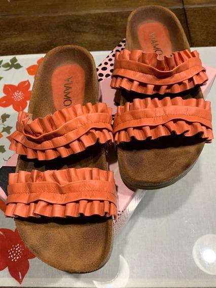 Sandalias Viamo Katrien Coral