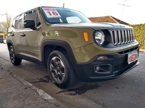Jeep Renegade Sport 1.8 Aut 2016 Baixo Km