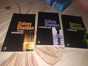 Kit Sidney Sheldon Suspense Detetive Ação - Novos