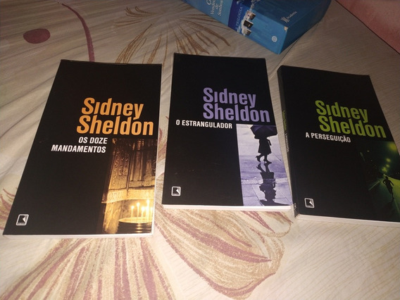 Kit Sidney Sheldon Suspense Detetive Ação - Novos