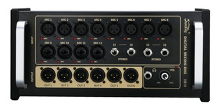 Consola Digital Soundking Db16 16 Canales iPad Tablet Cuota