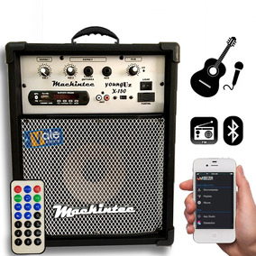 Caixa Multiuso Amplificada X150 8 Bluetooth,usb+sd+fm+cont