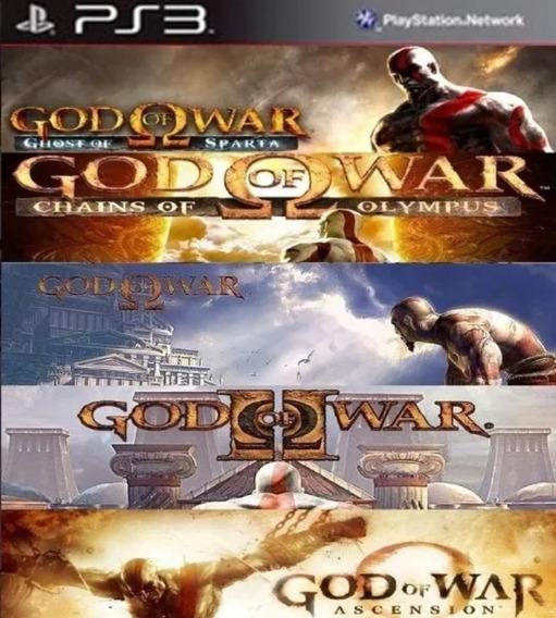 Ps3 Pacote God Of War Ps3 Buy Jogos Separados Psn
