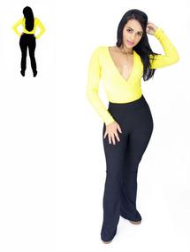 Conjunto Roupas Femininas Calça + Body Fique Linda !!!