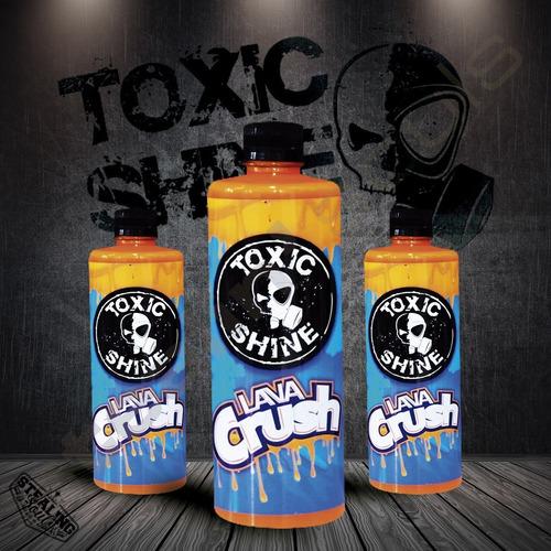 Toxic Shine | Lava Crush | Sellador | 600cc