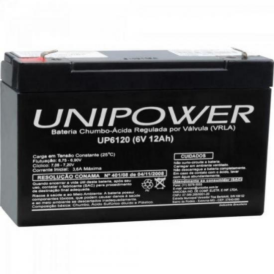 Bateria Selada 6v/12a Up6120 Unipower