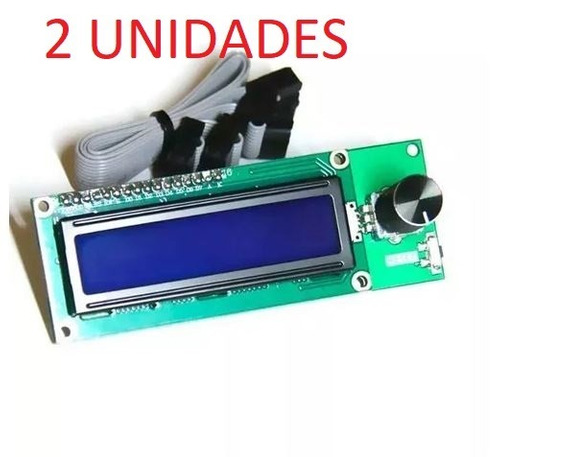 2 Unidades Mini Display- Lcd 1602 - Impressora 3d - Reprap