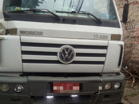 Vw 17220 Truck Poly Duplo Articulado Ano 2005