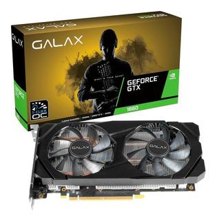 Placa De Vídeo Galax Gtx 1660 1-click Oc 6gb - Com Garantia
