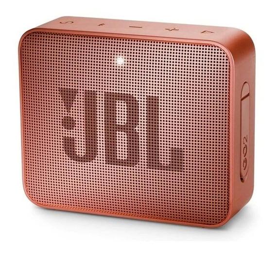 Alto-falante JBL GO GO 2 portátil sem fio Sunkissed cinnamon