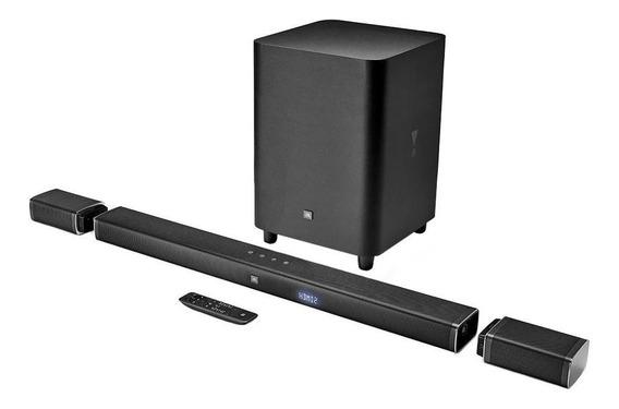 Barra De Sonido Jbl 5.1 Ultra Hd 4k De 5.1 Canales Con Verda