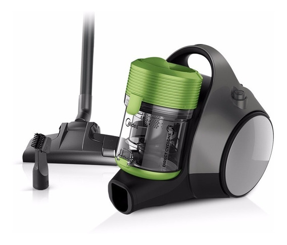 Aspiradora Midea Sin Bolsa Direct Cyclone 1400 W Lime Green