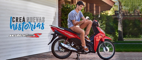 Honda Wave 110 S  Entrega Inmediata. Stock Disponible !!